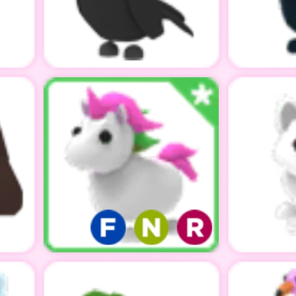 Other Roblox Neon Rideable Flyable Unicorn Poshmark